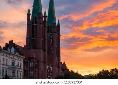 St. Bonifatius is a catholic church in the Kreuzberg district of Berlin, Germany