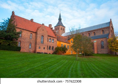 St. Canute's Cathedral in city of Odense in Denmark
