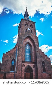 St. Canute's Cathedral in Odense, Denmark.