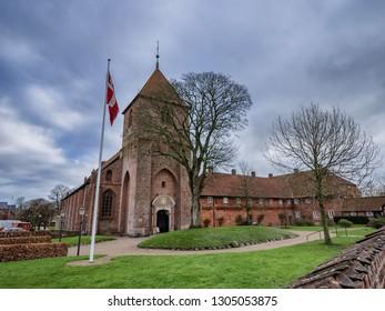 St Catherine Monastery in Ribe, Denmark