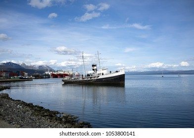 St. Christopher Shipwreck in Ushuaia (Argentina)