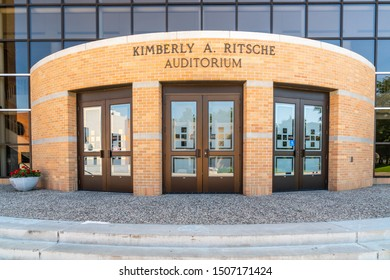 ST CLOUD, MN/USA - SEPTEMBER 15, 2019: Kimberly A. Ritsche Auditorium on the campus of St. Cloud State University.