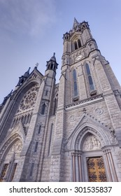 St Colman's Cathedral in Cobh, County Cork, Ireland.