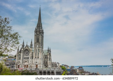St Colman's Cathedral on a cold Summer's day in Cobh