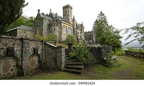 St. Conans Church near Loch Awe (Scotland)