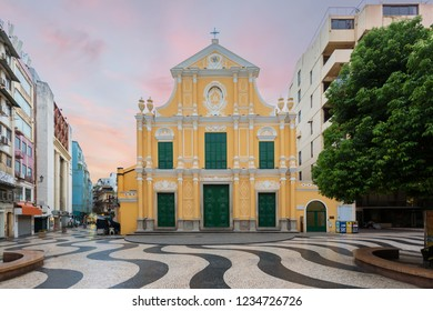 St. Dominic's Church, Church in the middle of Senado Square, Macau, China.