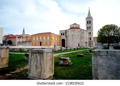 St. Donatus is a church located in Zadar, Croatia