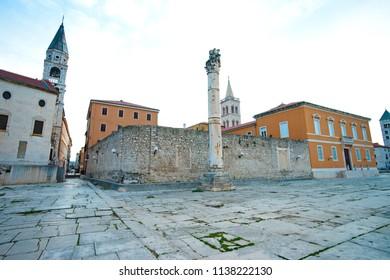 St. Donatus church travel located in Zadar, Croatia