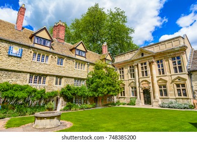 St Edmund Hall, College, Oxford University, Cotswolds, England