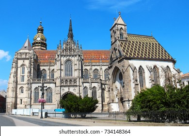 St. Elizabeth Cathedral in Kosice, the largest church of Slovakia