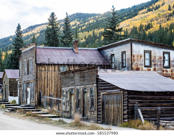 St. Elmo Colorado Ghost Town in the Rocky Mountains