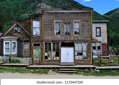 St. Elmo Ghost Town Buildings and Streetscape Chaffee County Colorado