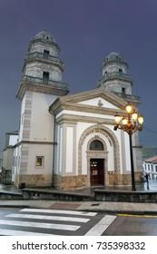 St. Felix church in Candas. Asturias. Spain.