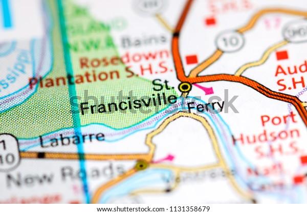 st francisville louisiana map St Francisville Louisiana Usa On Map Stock Photo Edit Now 1131358679
