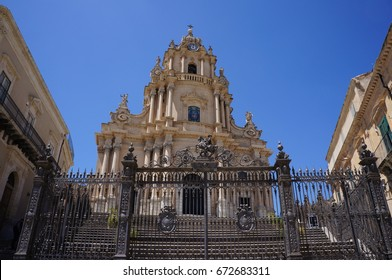 St. George cathedral in Ragusa Ibla, Sicily, Italy.