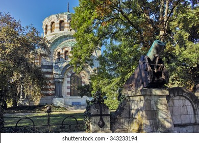 St. George the Conqueror Chapel Mausoleum, City of Pleven, Bulgaria