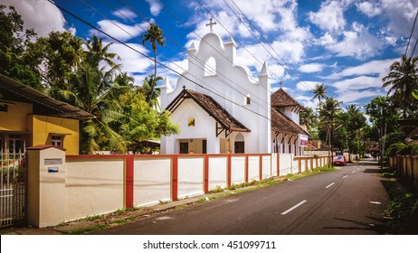 St. George Marthoma Church on the streets of Kochi, India.