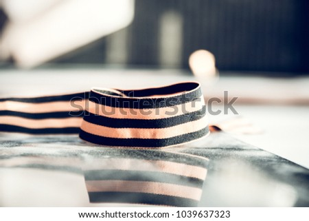 St George ribbon in
