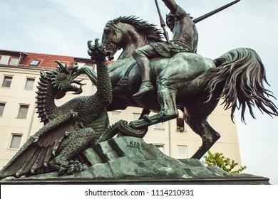 St George Slaying The Dragon, Berlin.