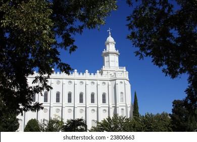 St. George, Utah LDS (Mormon) Temple