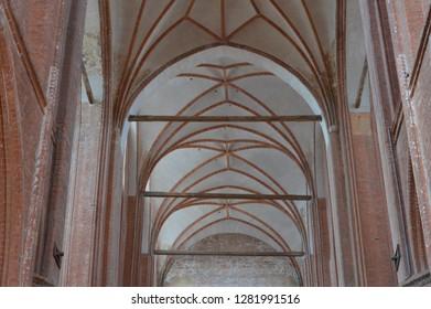 St. Georgen Church in Wismar, Mecklenburg Western Pomerania, Germsny, april-30-2017