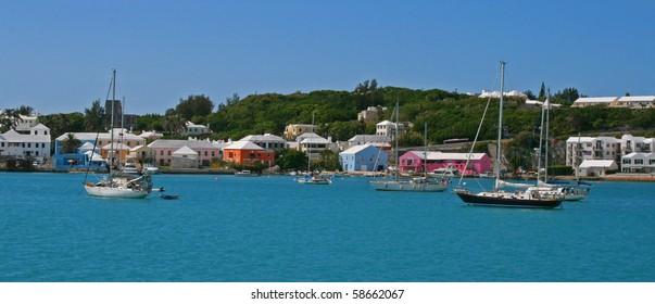St. Georges Bermuda Skyline