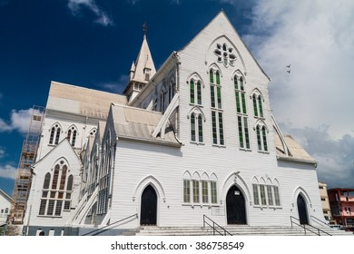 St George's cathedral in Georgetown, capital of Guyana