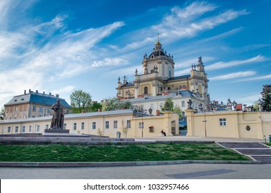 St. George's Cathedral in Lviv (Lvov), Ukraine. Built in 1744-1762