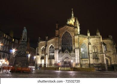 St. Giles Church, Edinburgh Scotland