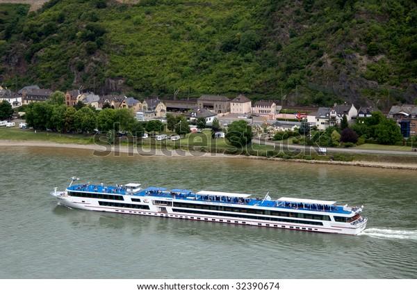 St Goar, Germany on the Rhine