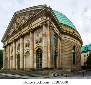 St. Hedwig's Cathedral (Sankt-Hedwigs-Kathedrale) is Roman Catholic cathedral on Bebelplatz in Berlin, Germany. It is the seat of archbishop of Berlin.