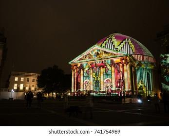 St. Hedwigs-Kathedrale during Berlin Leuchtet 2017