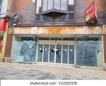 St Helens Merseyside, June 15 2018 Shutdown business