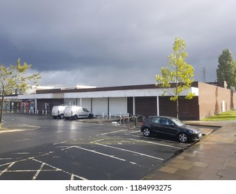 St Helens Merseyside UK September 21 2018 could this be the site of a Tescos new discount store Jacks that is Tescos attempt to take on the likes of Aldi and Lidl.