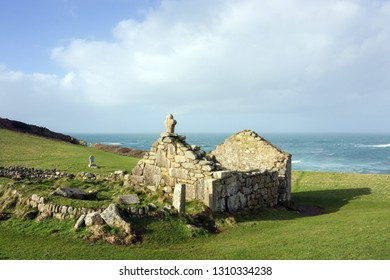 St Helen's Oratory, Cape Cornwall, St Just, Cornwall UK