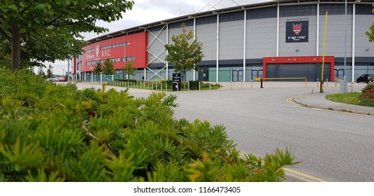 St Helens, UK August 2018 Totally Wicked Stadium ( St Helens Saint ) Formally  Langtree Park