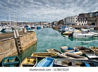 St. Helier Harbour - Jersey, Channel Islands
