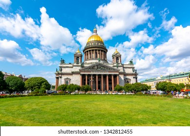 St. Isaac's Cathedral in Saint Petersburg, Russia