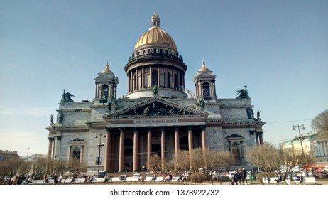 St Issac's Cathedral in St Petersburg, Russia