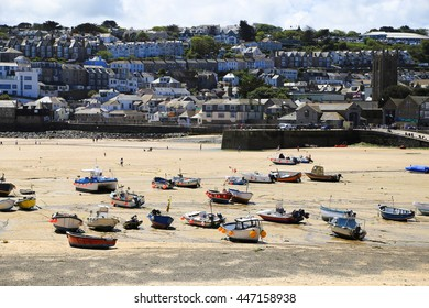 St Ives; Cornwall - England; sand; beach;