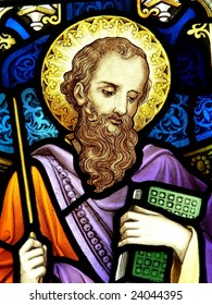 St. James, stained glass image