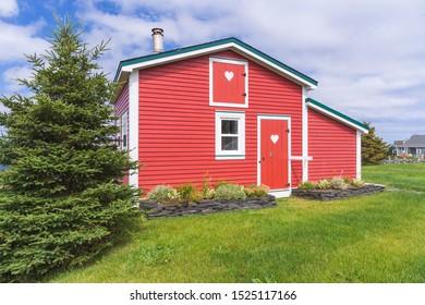 [St. John, Newfoundland - August 2019] Isolated house on the The battery Peninsula of Newfoundland, Canada