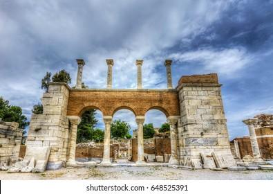 St. John's Basilica in Turkey( HDR shot )