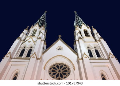 St Johns Cathedral in Savannah, Georgia