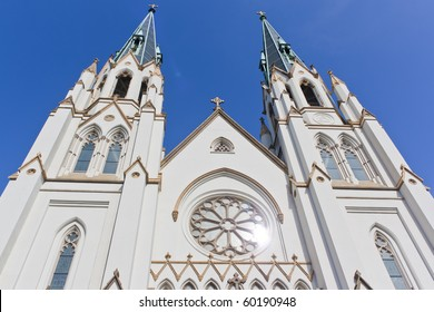 st. johns cathedral in Savannah Georgia