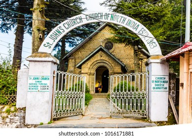St. John's Church in Dalhousie, Himachal Pradesh, India, Asia.