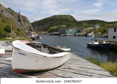 St. John's, Newfoundland, Canada - 07/18/2006: fishing village in Newfoundland