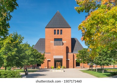 ST JOSEPH, MN/USA - SEPTEMBER 15, 2019: Sexton Commons on the campus of Saint John's University