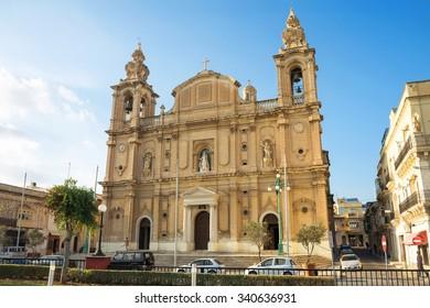 St. Joseph's Church in Msida. Valletta. Malta