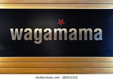 ST JULIANS, MALTA -24 JANUARY 2015- Launched in London in 1992, Wagamama is a chain of pan Asian fusion casual restaurants with locations in more than 15 countries.